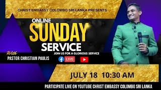 18th JULY | SUNDAY SERVICE | Zoe Part - 3