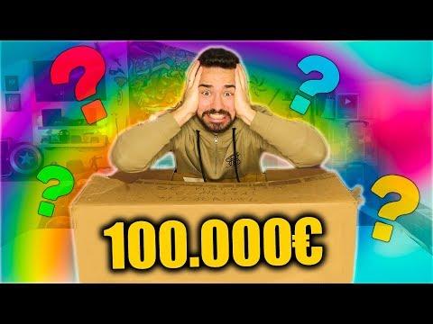 CAIXA MISTERIOSA DE 100.000€ !!!