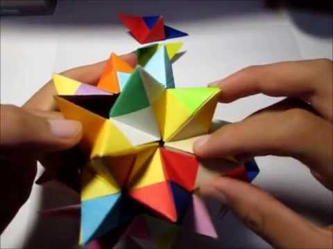 ハート 折り紙 もやっとボール 折り紙 作り方 : youtube.com