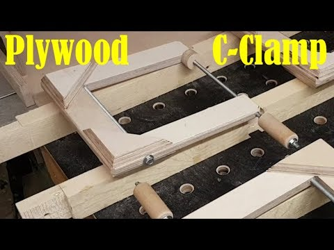 Plywood C-Clamp (Design by Ronald Walters)