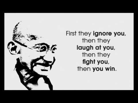 Love, Life, Inspiring, Happiness - Gandhi Quotes