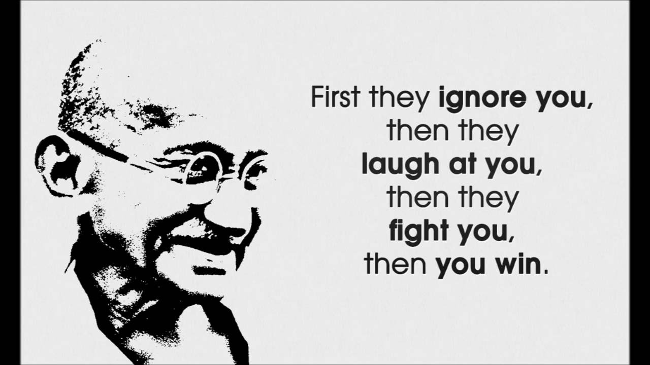 Fight For What You Love Quotes Love Life Inspiring Happiness  Gandhi Quotes  Youtube