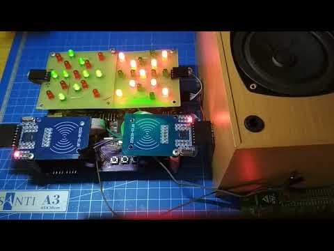 Turnstile on STM32 with RFID SDIO FATFS RTOS
