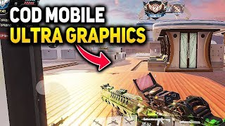 COD MOBILE 60 FPS ULTRA GRAPHICS | ANDROID / iOS Gameplay | Call of Duty Mobile