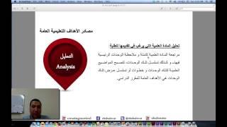 رواق : تصميم وانتاج المقررات الإلكترونية - المحاضرة 3 - الجزء 2