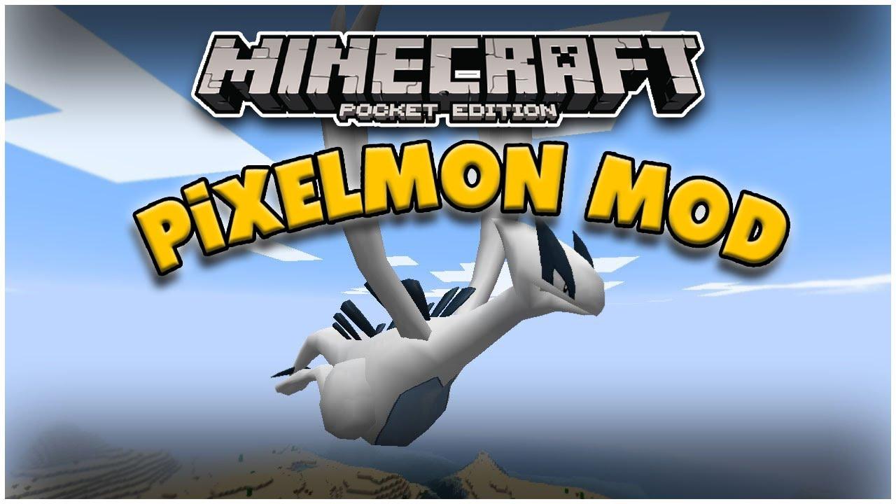 PIXELMON Minecraft PE: Mod Showcase Pokecube YouTube