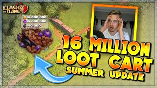 16 MILLION LOOT in My LOOT CART!? COC UPDATE SUMMER 2020