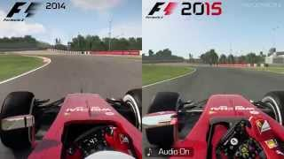 F1 2014 vs F1 2015 [PC] - Suzuka Comparison