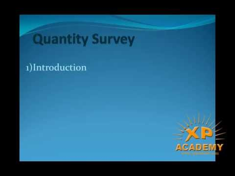 Quantity surveyor Urdu Tutorials | introduction Quantity surveyor