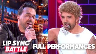 "Luis Fonsi Performs ""Tubthumping"" & ""It's Gonna Be Me"" 