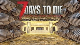 CASTLE | Let's Play 7 Days to Die Part 17 | New Base Building | Alpha 15 Gameplay