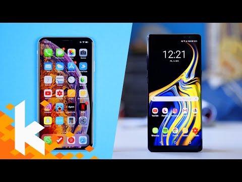 IPhone Xs Max Vs Galaxy Note 9 - Was Ist Besser?