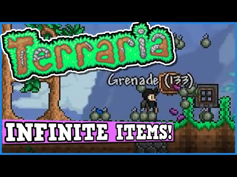 Terraria Is A Perfectly Balanced Game With No Exploits - Infinite Diamond Exploit Item Dupe Glitch