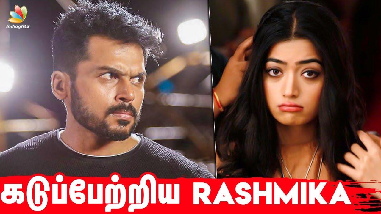 Rashmika asks Sorry to Karthi I Sultan I Latest Tamil Cinema News
