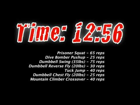 The Spartan 300 Workout - The Ice Breaker 20 Minute Timer