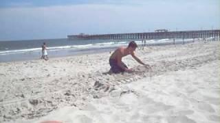 08 Summershine 2007 (02 Taylor And Make-shift Beach Chair)