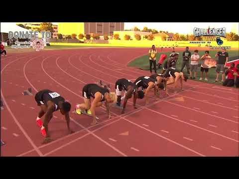Challenger Games 100 Meters Men Dash