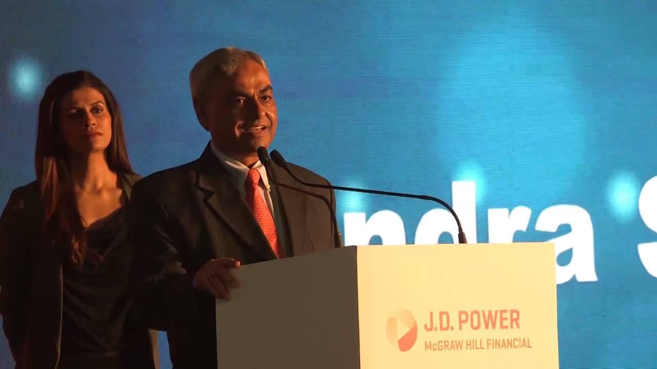 Mahindra & Mahindra Ltd: J D  Power 2015 India Awards Presentation