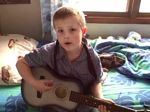 5 Year Old Sings