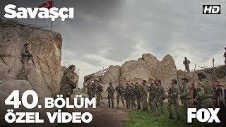 Kampına Türk Bayrağı astım Kuzgun Savaşçı 40. Bölüm