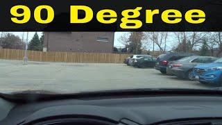 90 Degree Reverse Parking-Beginner Driving Lesson