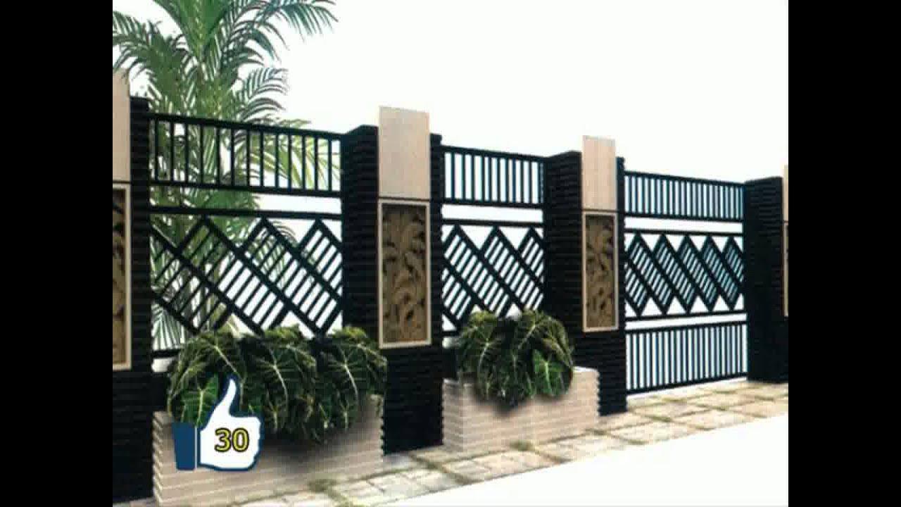 RUMAH MINIMALIS gambar pagar rumah  minimalis sederhana