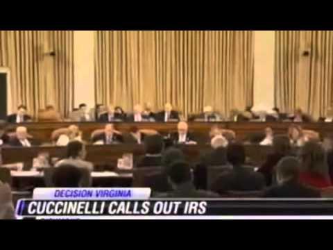 WWBT-TV: Ken Cuccinelli Retreiving Millions from IRS for VA