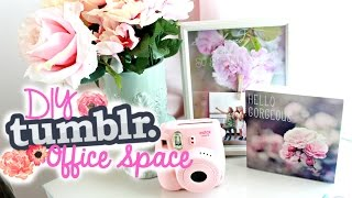 Diy Tumblr Office/desk Space Decor | Belinda Selene