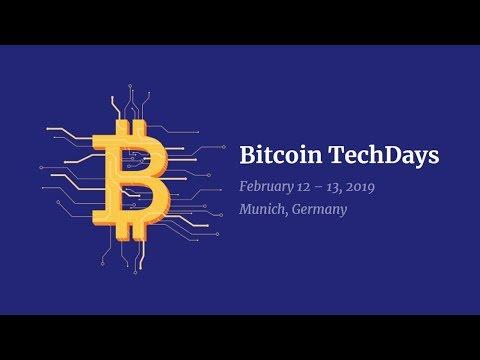 Bitcoin TechDays 2019 Livestream