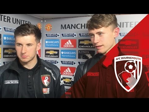 Post Manchester United   Holmes and Jordan delighted to gain experience at Old Trafford