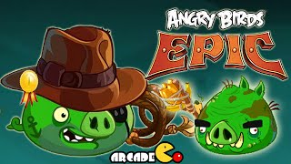 Angry Birds Epic: NEW CHRONICLE CAVES 10 Level 4 Completed
