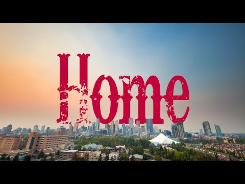 I'm Home! The Best View in Calgary | Canada Travel Vlog