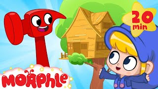 Download Morphle's treehouse - Building with Mila and Morphle Mp3 and Videos