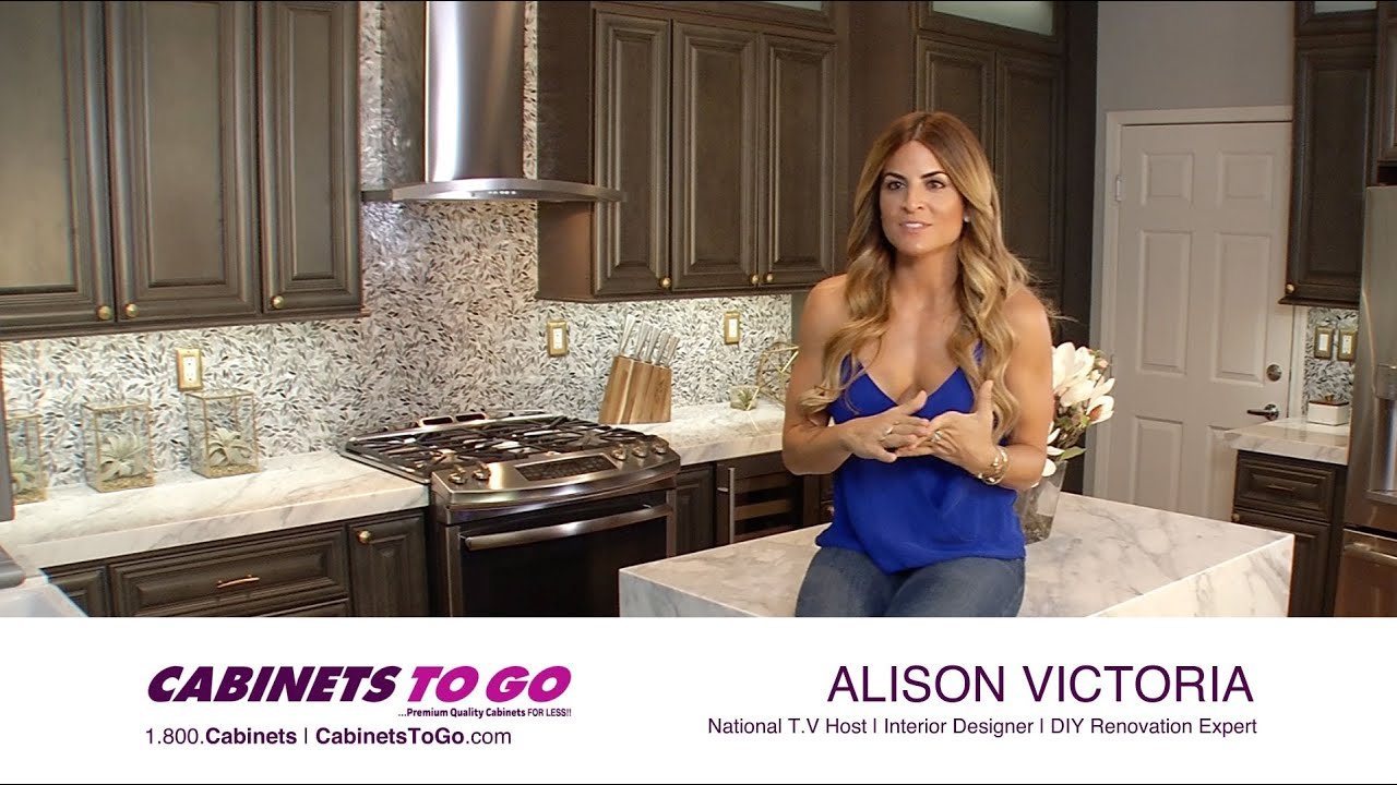 Alison Victoria | Cabinets To Go Is The Choice!   YouTube