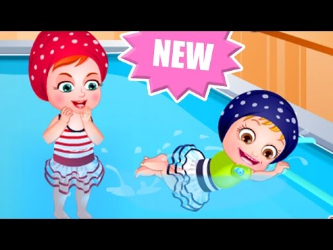 Baby Hazel Game Movie - Baby Swimming Time - Dora The Explorer