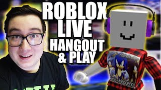 Roblox LIVE! Come hang out, play, and JOIN! Youtuber: No Swearing