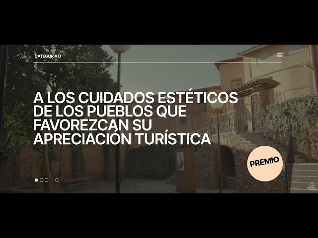 Premio a los Cuidados Estéticos de los pueblos que favorezcan su apreciación turística