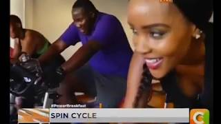 Workout Wednesday: Spin Cycle #PowerBreakfast