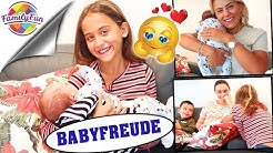 GROßE BABYFREUDE - SO GROß ist BABY BERAN GEWORDEN - Nachträgliches Geschenk - Family Fun