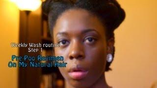 How To Pre-Poo Regimen (4B4C Hair)
