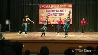 Arya pg college | Telent Search 2018 | Stunt Mania Dance Group | choreography by: Gourav kalra