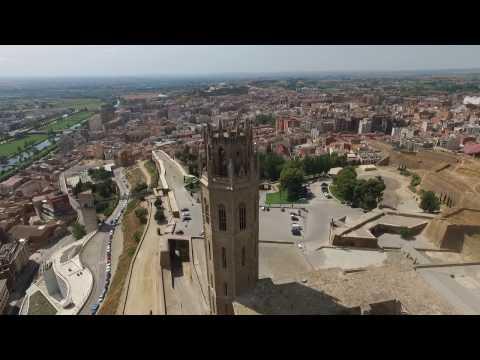DJI Catedral la seu vella Lerida Barcelona 2