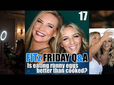 FITz Friday Q&A 17 : Is eating runny eggs better than cooked?