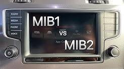 MIB Infotainment version check (MIB1 MIB2 MIB2.5 MIB2Std MIB2High)