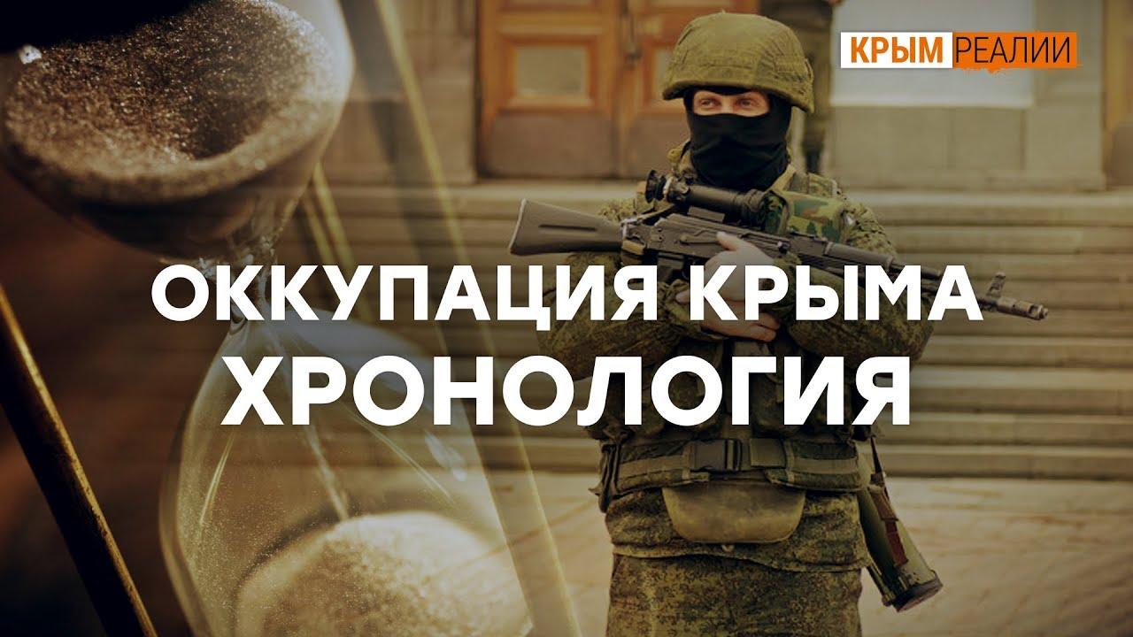 Как Россия оккупировала Крым. Хронология