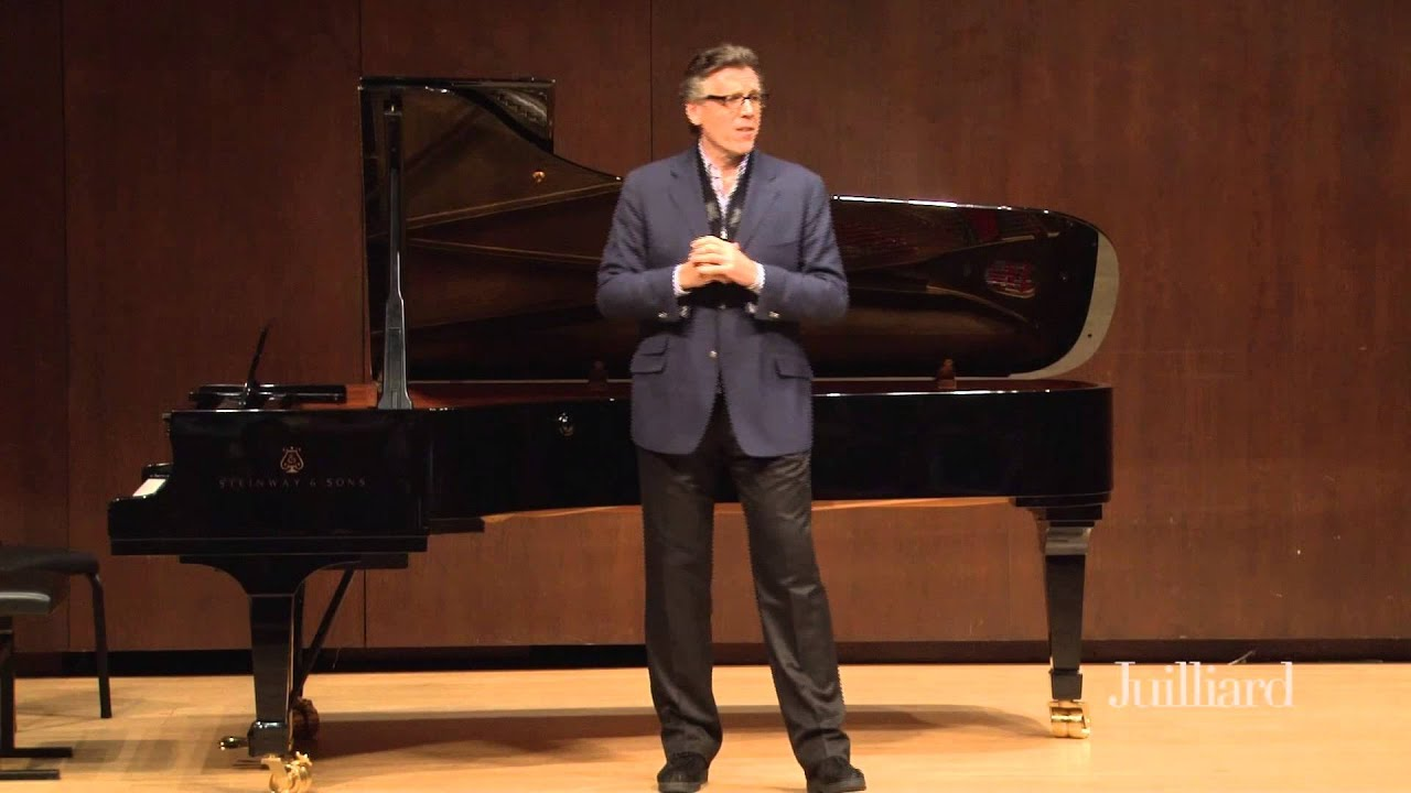 Thomas Hampson Master Class, January 28, 2015: Introduction by Brian Zeger