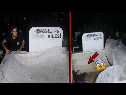 ECİNNİ VAKASI İNCELEMEYE GİTTİK !!! (Mezarın İçindeki Adam😱)