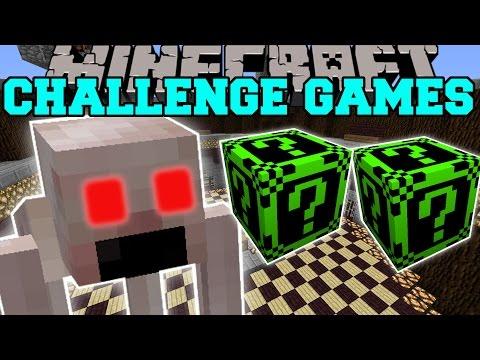 Minecraft: THE RAKE CHALLENGE GAMES - Lucky Block Mod - Modded Mini-Game
