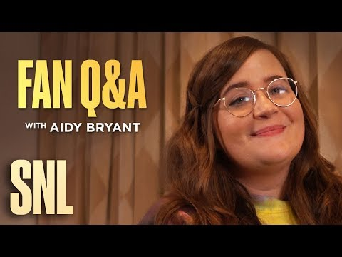 SNL Fan Q&A with Aidy Bryant