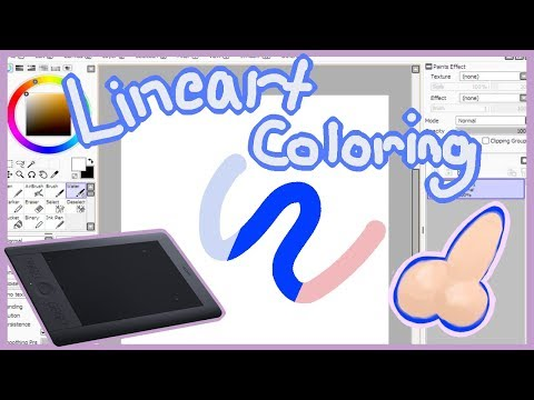 How To Change The Color Of Your Line Art In Paint Tool SAI